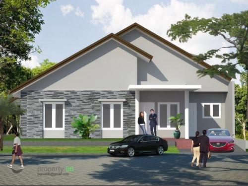 Tampak baru Rumah di Bintaro